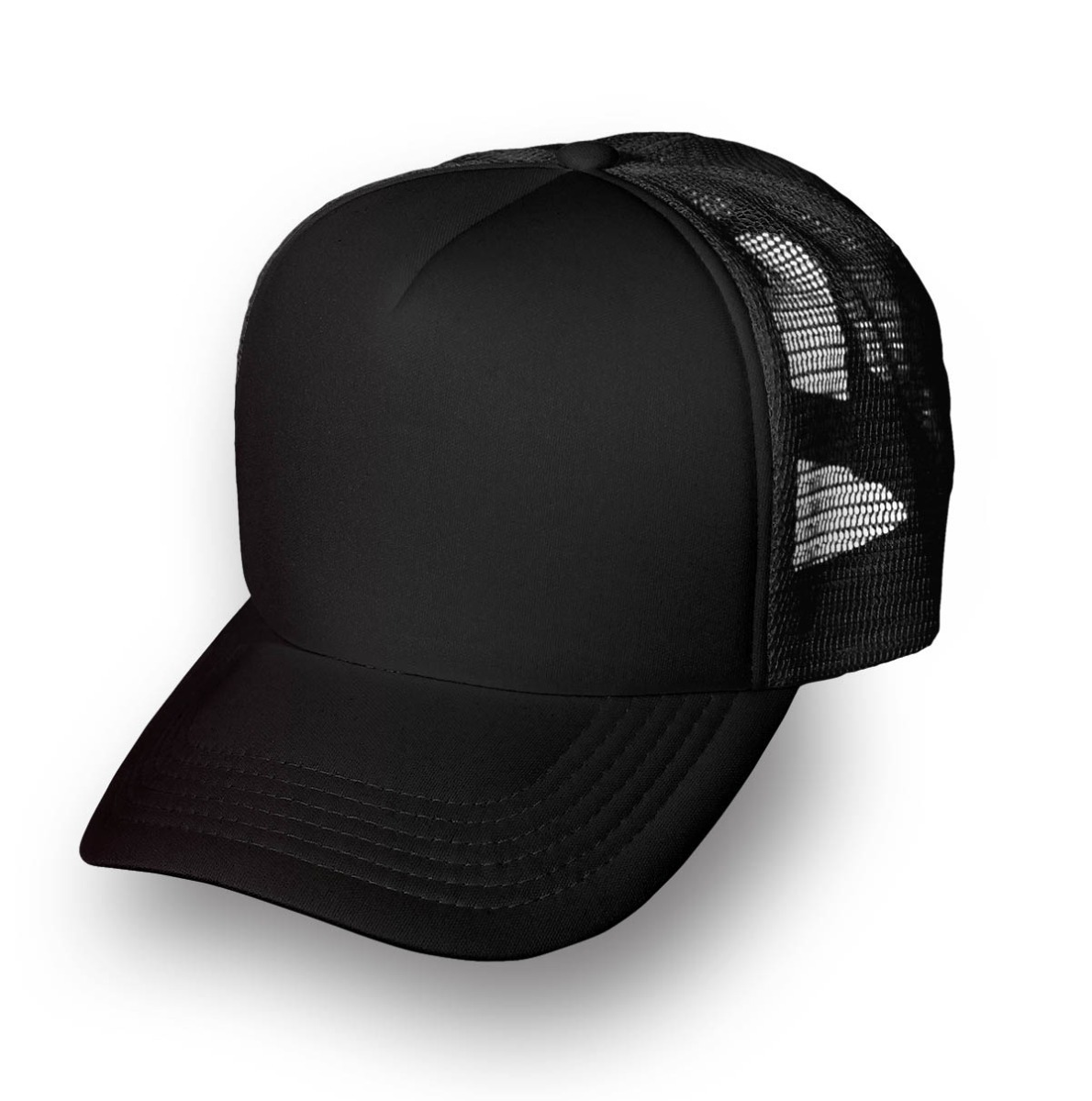 estilo distintivo varios tipos de outlet(mk) Gorra Trucker Negra Lisa Calidad Premium X 5 Unidades