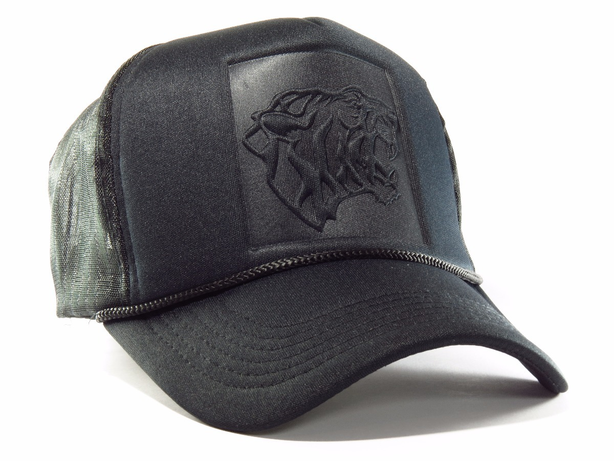 Gorra Trucker Negra Tigre Moda 2018 -miami Cap- -   299 356850d8f7b