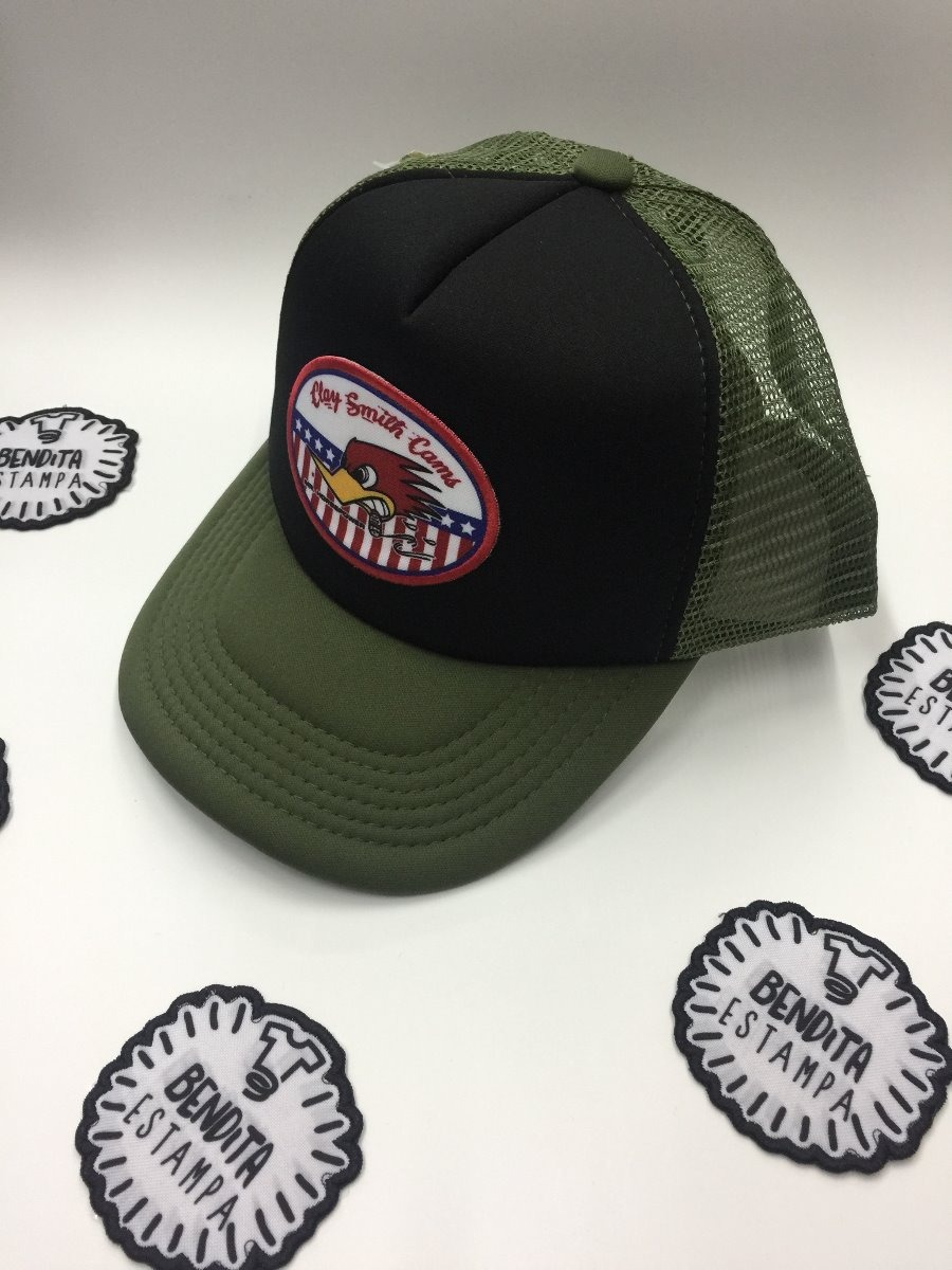 b538a93a304ac Gorra Trucker Patch Parche Clay Smith Cams Ss2018 Camionero -   349 ...