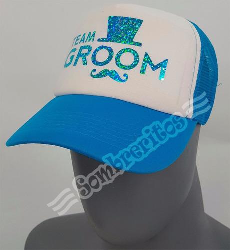 gorra trucker personalizada bodas, xv años, fiestas