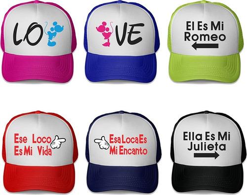 gorra trucker personalizada bodas xv años fiestas publicidad