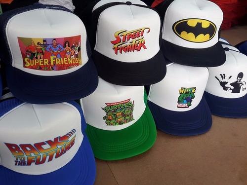 gorra trucker sublimada con tu logo personalizada