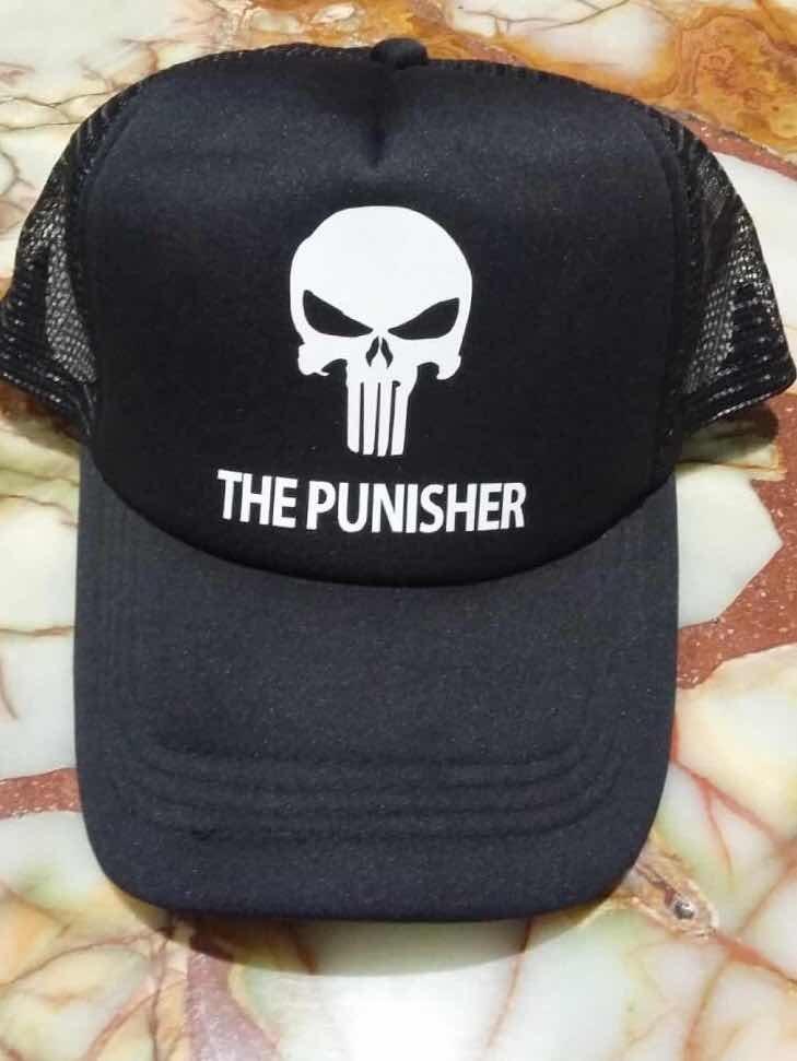 gorra trucker the punisher. Cargando zoom. bb4a8a53690