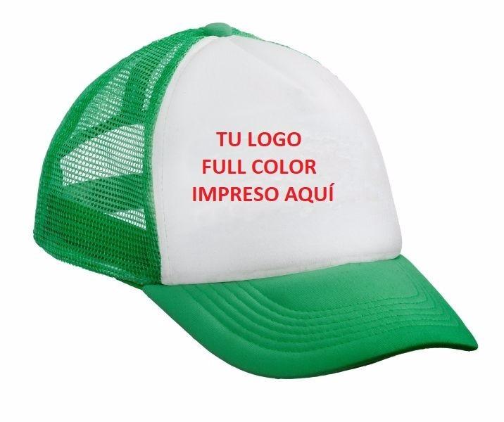 Gorra Trucker Verde Benetton. El Mejor Precio. -   85 da373fc8be3