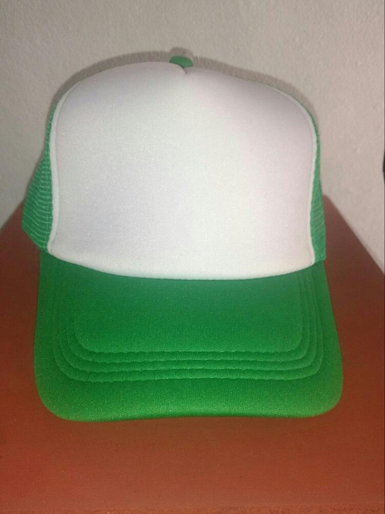 gorra trucker verde frente blanco. Cargando zoom. 0904cb3e5d9