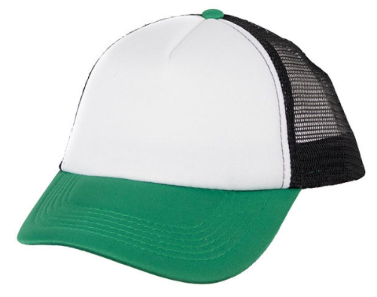 gorra trucker verde logo full color. Cargando zoom. b8c90b08e4f