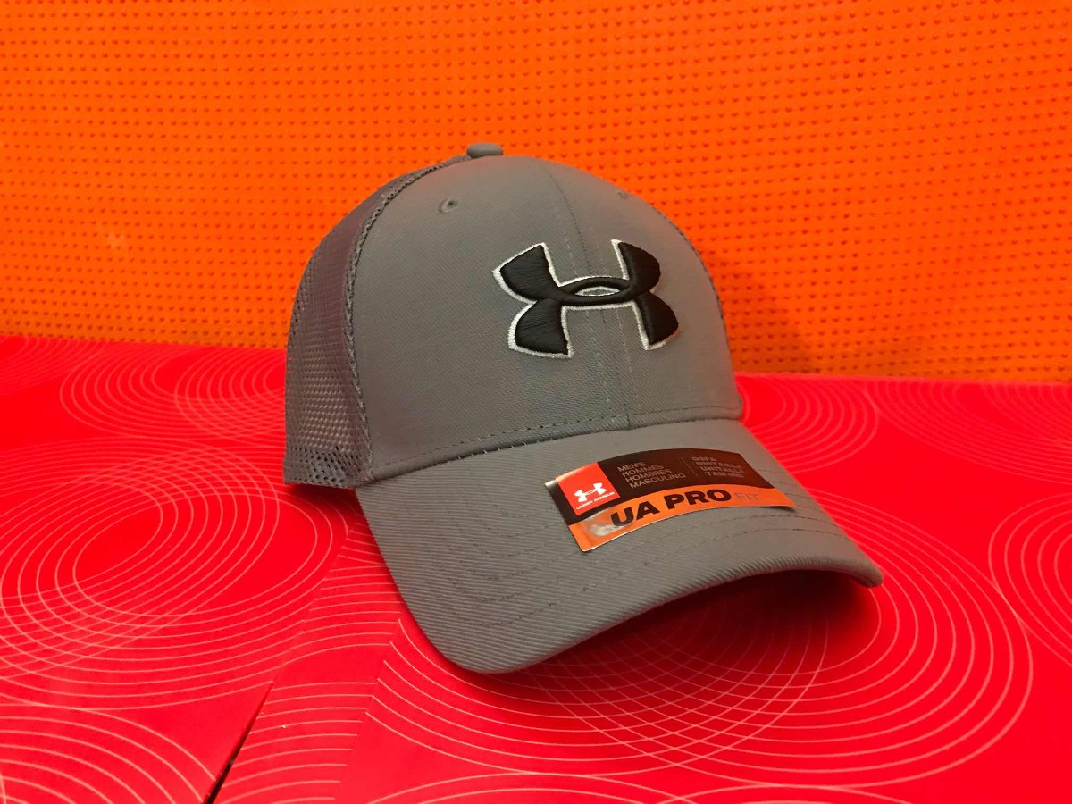 Gorra Under Armour Pro Fit. Gris Malla Y Broche -   630.00 en ... e861865d8df