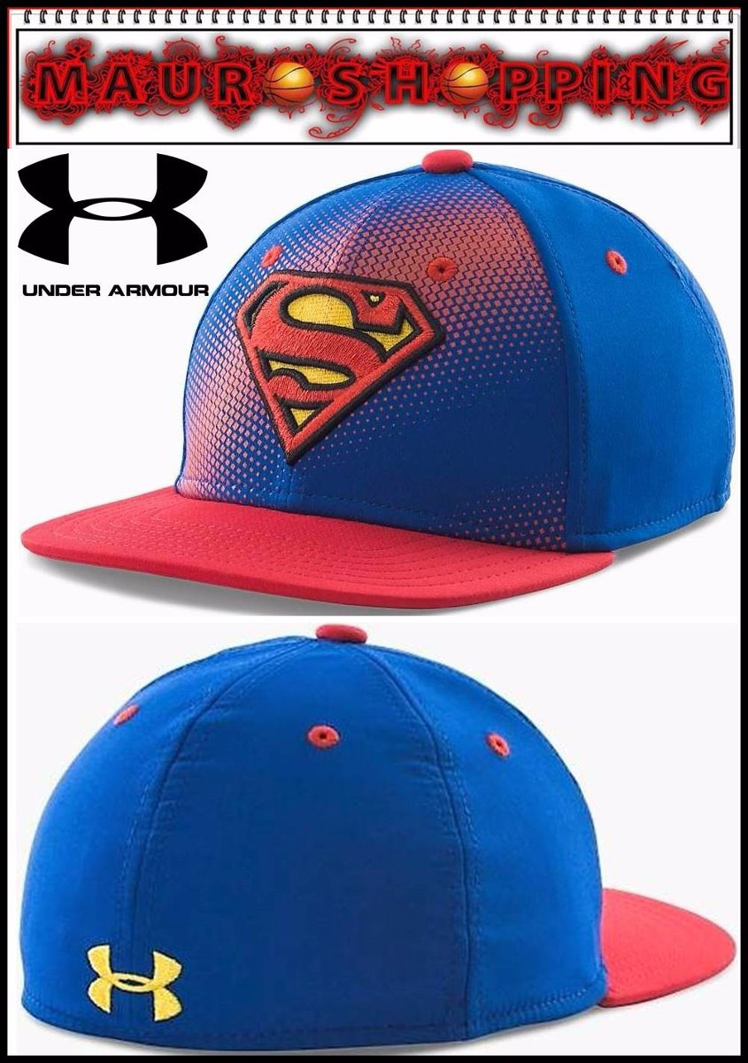 34736cbf6df96 gorra under armour superman y batman 100% originales new era. Cargando zoom.