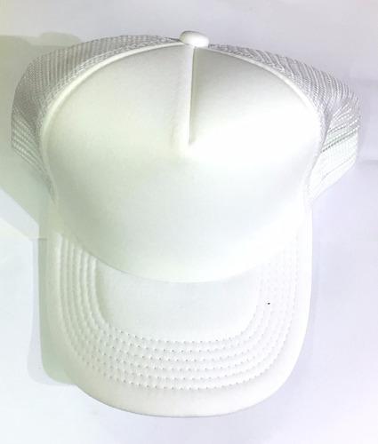 gorra unicolor maya le sak- blanco