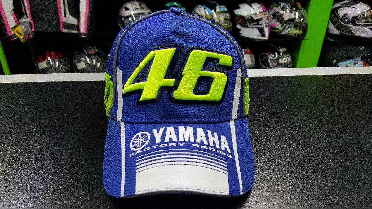 Gorra Valentino Rossi Vr46 Yamaha Rossi 46 Modelo Gdr-5578 ... 0a2c038d39c