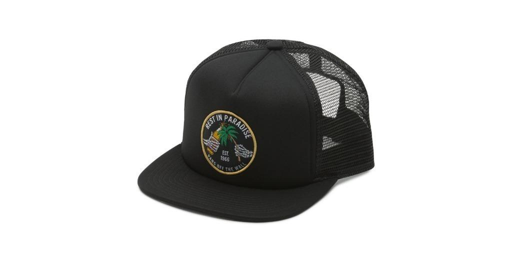 Gorra Vans Rest In Paradise Negra Trucker -   1.390 2597cf88c9a
