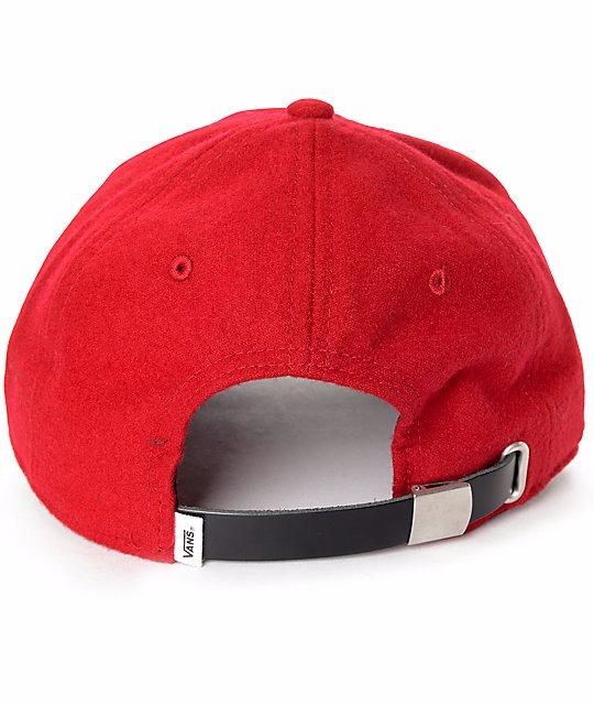 gorra vans roja 32d634a0371