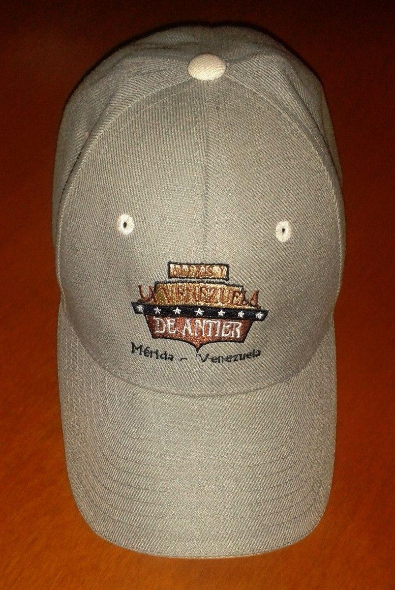 gorra venezuela de antier mérida gris ajustable (poco uso). Cargando zoom. 6c42a17921b