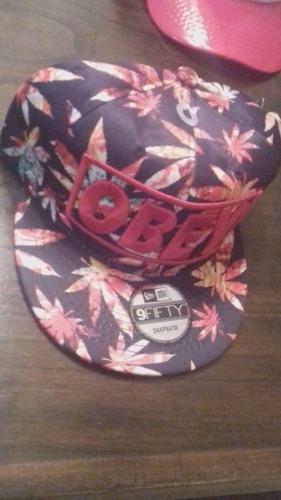 gorra vicera cap plana obey y obey verano nuevas