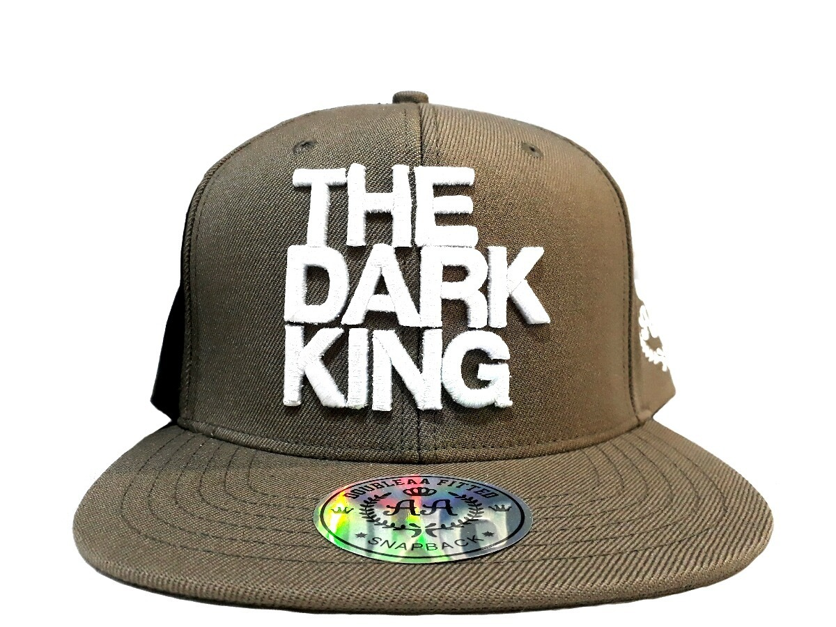 gorra vicera recta snapback verde hip hop the dark king. Cargando zoom. a97b63eee11