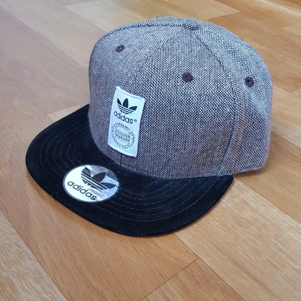gorra visera adidas originals gris negra importada. Cargando zoom. 193a55a7576