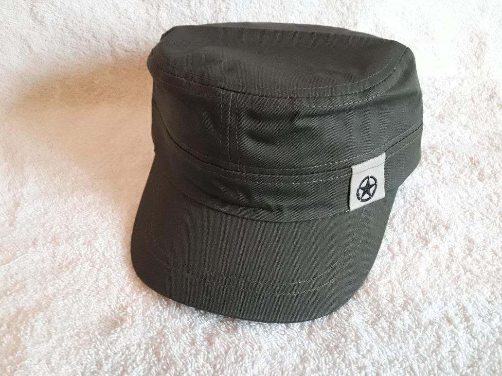 gorra visera corta verde stilo cubano pach. Cargando zoom. f34e77267a1