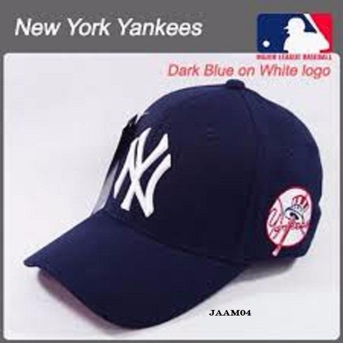 f750439fd09b9 Gorra Visera Curva Mlb N Y Yankees Baseball Cerrada Últimas ...
