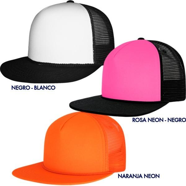 Gorra Visera Plana Bicolor. Snapback. 14 Colores. Promos  -   139.90 ... d0cab031aed