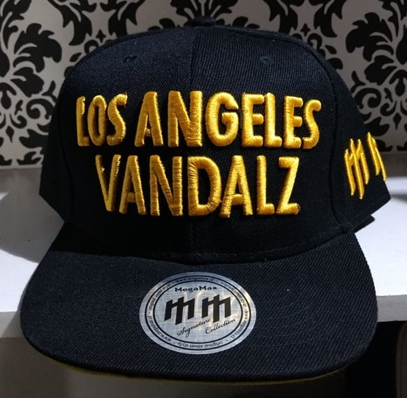51dd37597f Gorra Visera Plana Los Angeles Vandalz Megamax Bordada - $ 450,00 en ...