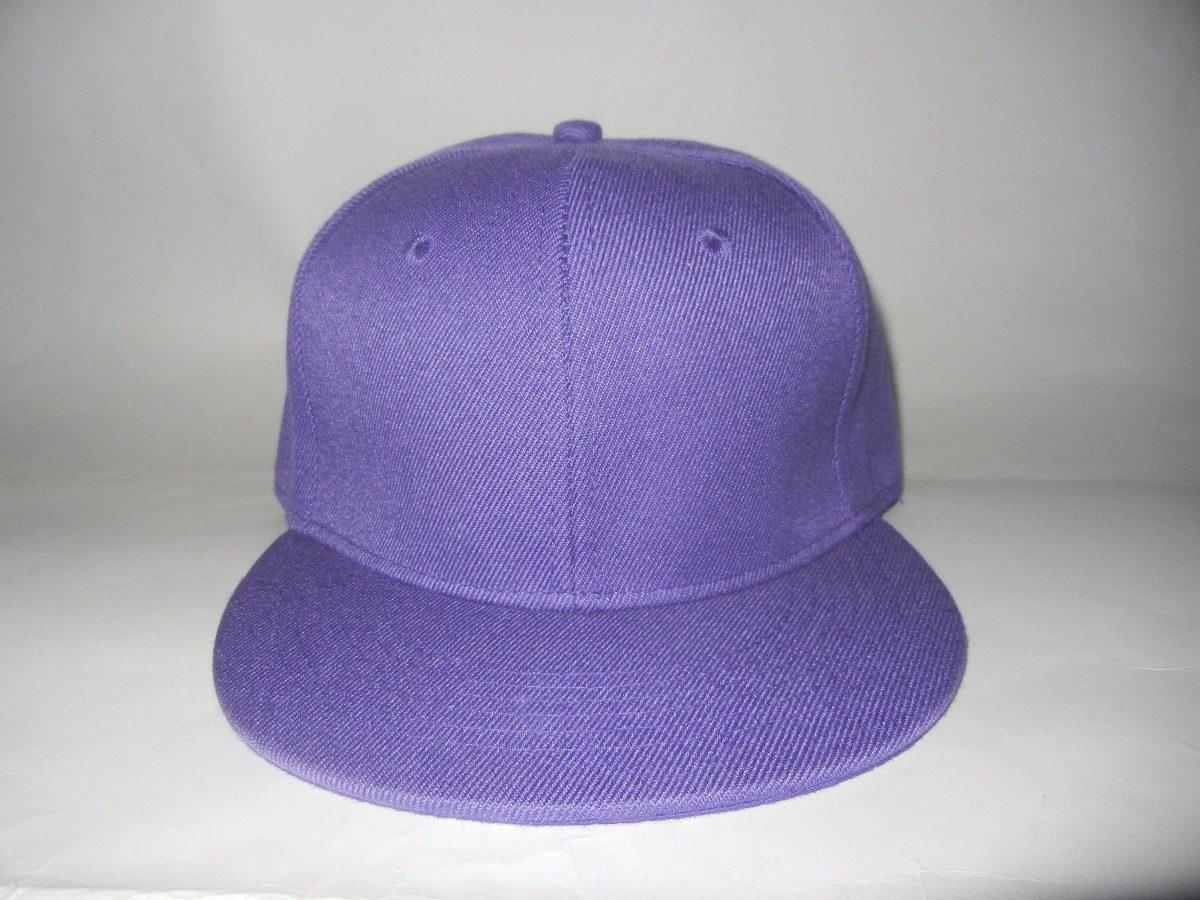 92d0fc81571db gorra visera plana violeta premium. Cargando zoom.