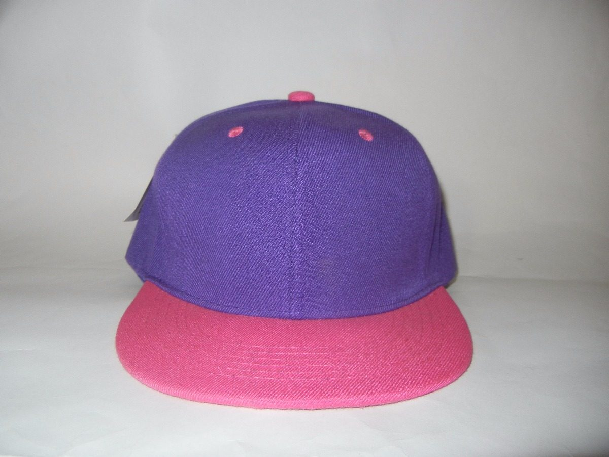 25ff75dff9e27 gorra visera plana violeta rosa premium. Cargando zoom.