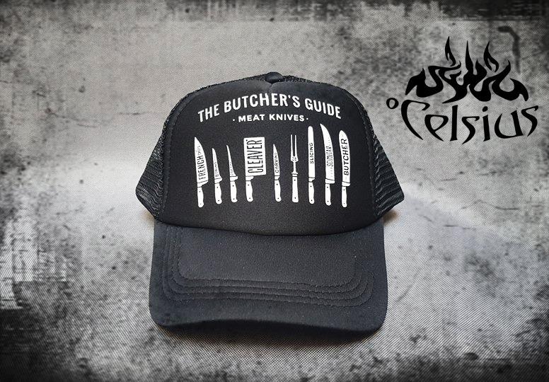 a8f76df362fbf Gorra Visera Trucker Chef Cocinero Cuchillo    Butcher   -   220