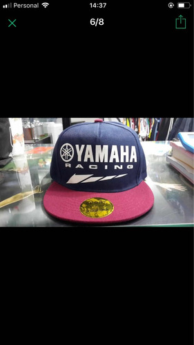 gorra yamaha racing