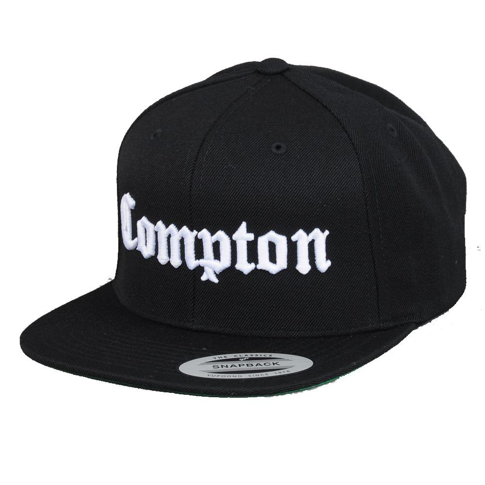 Gorra Yupoong Flexfit Bordado Compton Snapback Negra -   499.00 en ... 7a11087875d