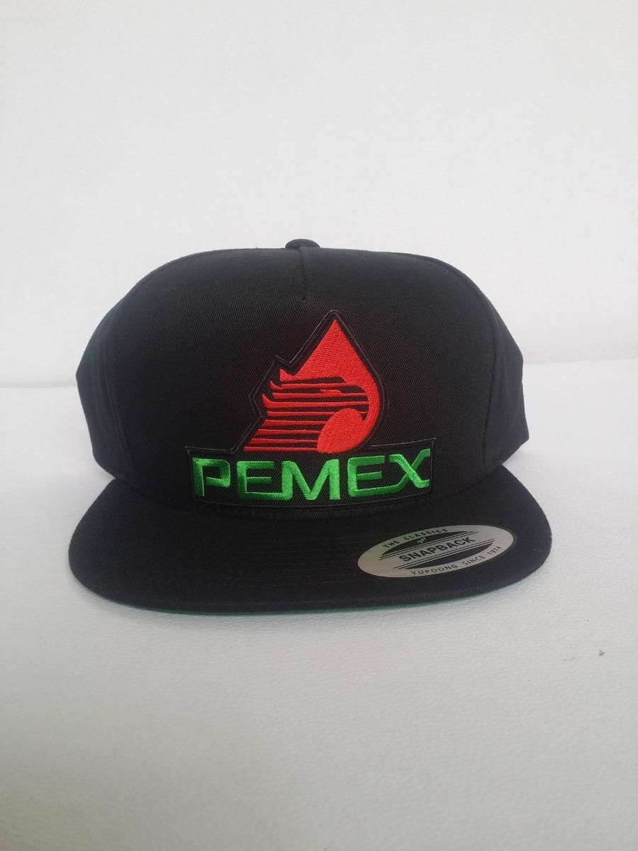 Gorra Yupoong Pemex Snapback Mexico Ajustable Negra -   549.00 en ... 21b33ca55e5