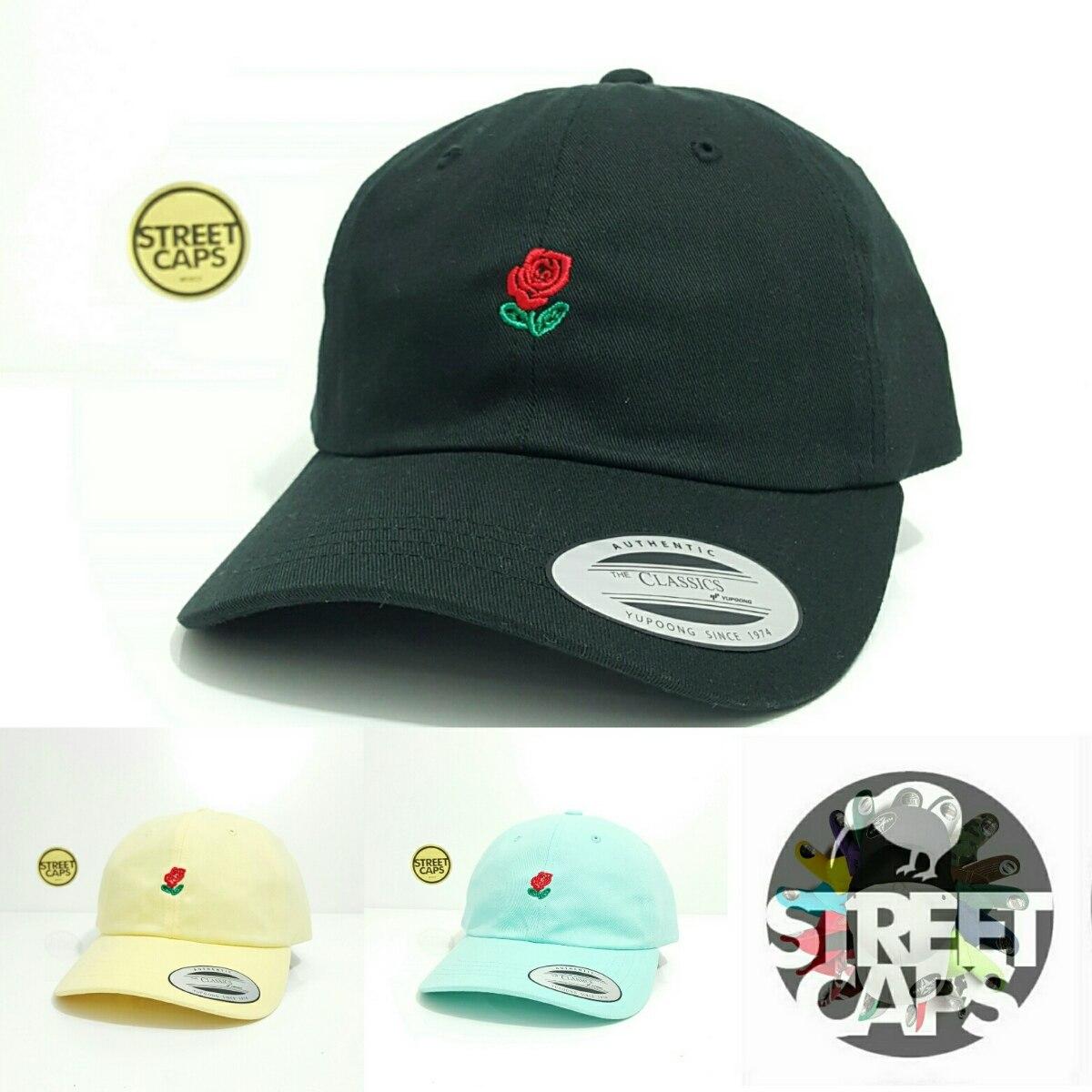 Gorra Yupoong The Classic Strapback Roses -   380.00 en Mercado Libre 10de3b4f7bf