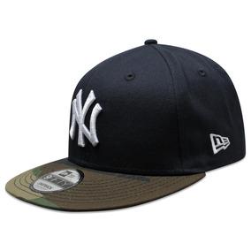 a0db2a5916b13 Gorra New Era 9 Fifty Mlb Yankees Team Camo Azul Marino