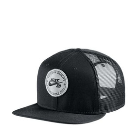 93d3a0fb30cdb Gorra Nike Sb Lockup Trucker Cap Black - Ropa
