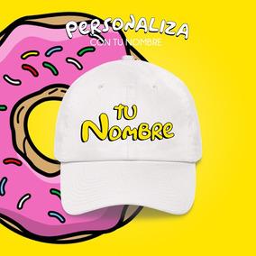 bb501a90cb68a Gorra Los Simpsons Bordada Personalizada Con Tu Nombre
