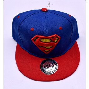128e75f1a455d Gorra Plana Bordada   Superman   Ajustable   Envio Gratis!