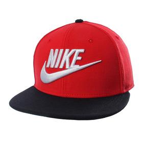a56abd514b48a Gorra Snapback Nike Original True Futura Roja negro