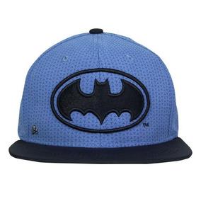 e4380348dce61 Gorra Plana Batman Logo Black Azul Cielo   Negro