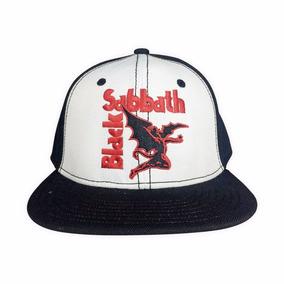 dc057af050083 Black Sabbath Logo Con Demonio Gorra Trucker Snapback Rock