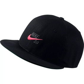 9b9c8c30f2614 Gorra Nike Sb Pro Vintage Snapback Hombre Hat Negra Original