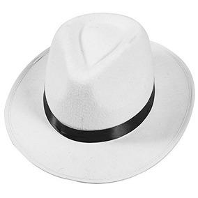 4bdc6913a6754 Sombrero Fedora Blanco en Mercado Libre Colombia