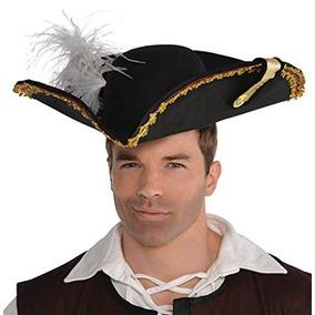 af3461297502f Sombrero De Capitan De Pirata De Amscan Accesorios De Disfra