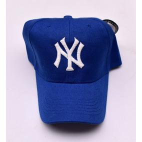 d8fd32bd1b86a Gorra Curva Bordada   New York Yankees   Ajustable
