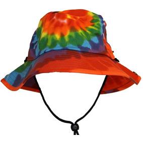 05c85f49170ae Tie Dye Jungle Bucket Hat Con String Strap Para Hombres M..