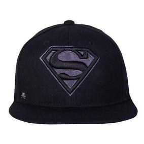 f8a55cfa5d69e Gorra Logo Superman Black Edition