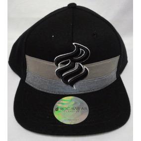 d63afdefcf700 Gorra Rocawear Negro Snapback Urbana Hip Hop Skate Hypebeast