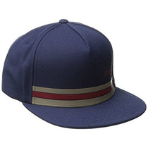 Gorra Rvca Hombres De Barlow Twill Snapback Hat Carbón Brez
