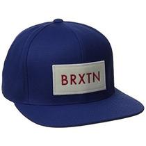 Gorra Brixton Hombres Del Rift Snapback Hat Negro / Negro,