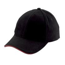 Kit X4 Cachucha Gorra Beisbol Vena-negro/rojo