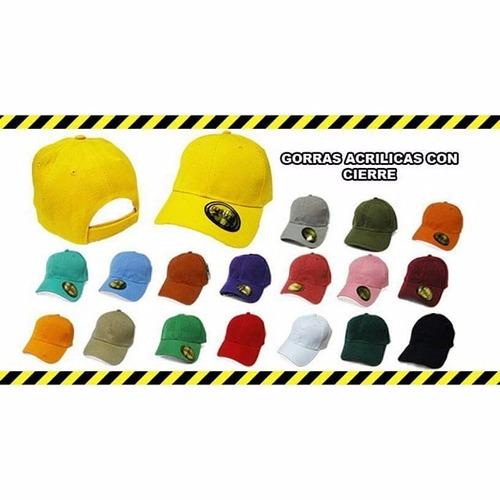 gorras acrílicas para bordar