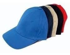 gorras acrílicas unicolor para bordar  (somos tienda física)